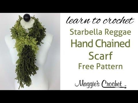 Starbella Reggae Scarf Left Handed Crochet Lesson with Maggie Weldon ...