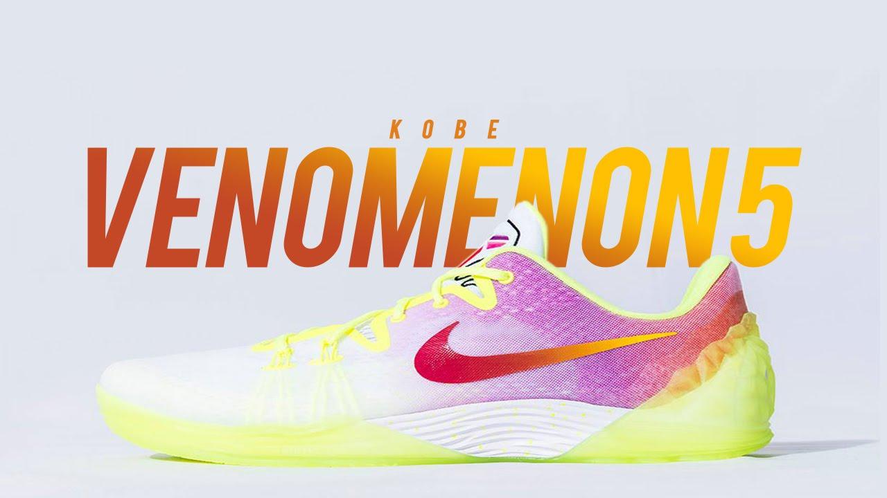 316708bbfd2 Nike Kobe Venomenon 5 Dreams - Detailed Photos - YouTube