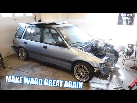 We are Building a K20 AWD Civic! Wago!