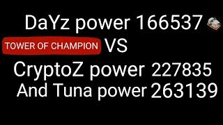 Tales of Thorn - DaYz vs CryptoZ and Tuna (Tower of Champion)
