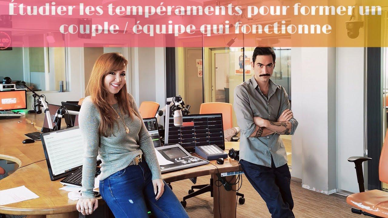 Former un couple / une équipe qui fonctionne selon la théorie des tempéraments - Rocco | ARABEL FM