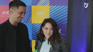 WATCH: Actors Sarah Greene and Killian Scott of Dublin Murders discuss their 'dark seven months' ...