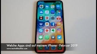 Welche Apps sind auf meinem iPhone - Februar 2019