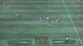 FIFA Soccer 07 Xbox 360 Gameplay - X06: Goal (Off-Screen)