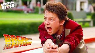 Marty McFly Skateboard Scene | Back To The Future | SceneScreen смотреть онлайн в хорошем качестве бесплатно - VIDEOOO