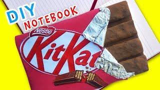 DIY KIT KAT Chocolate Notebook ( Umikids School Supplies ) mp3 indir