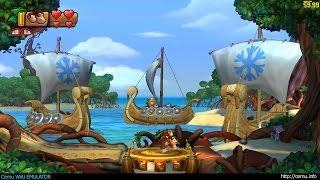 Cemu WiiU Emulator - Donkey Kong Country: Tropical Freeze ingame (Cemu 1.6.0)