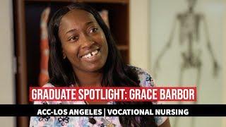 ACC Graduate Spotlight: Grace Barbor, LVN