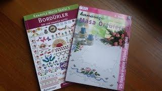 Обзор книг по вышивке Бордюры и скатерти (турецкое издание)