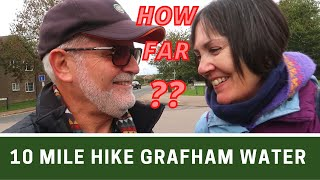 TEN MILE HIKE around GRAFHAM WATER in Cambridgeshire | How Bloomin' Far?? | Ep308