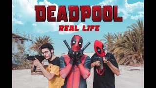 DEADPOOL in REAL LIFE