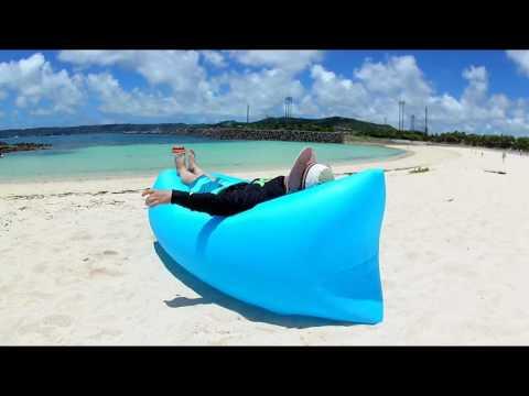Lazy Bag - Super leve e fácil de inflar