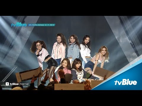 Đấu trường âm nhạc 101 mùa 01 | Sân khấu Bang Bang khiến Jessi J thán phục