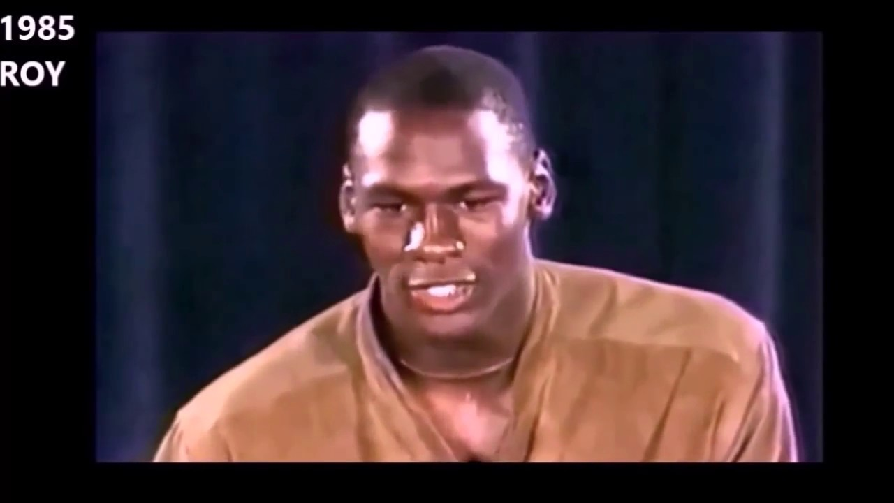 Michael Jordan Age 21 27 Before The Rings 1984 1990