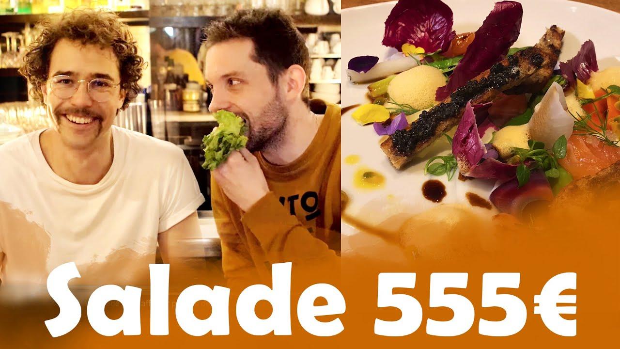Salade 5€ VS Salade a 555€ avec Baptiste et Fred.