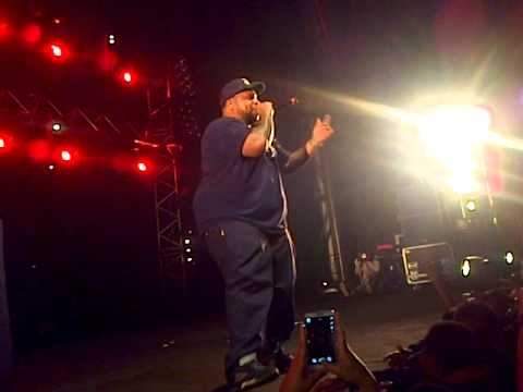 Rapper Big Pooh - LIVE - Paris