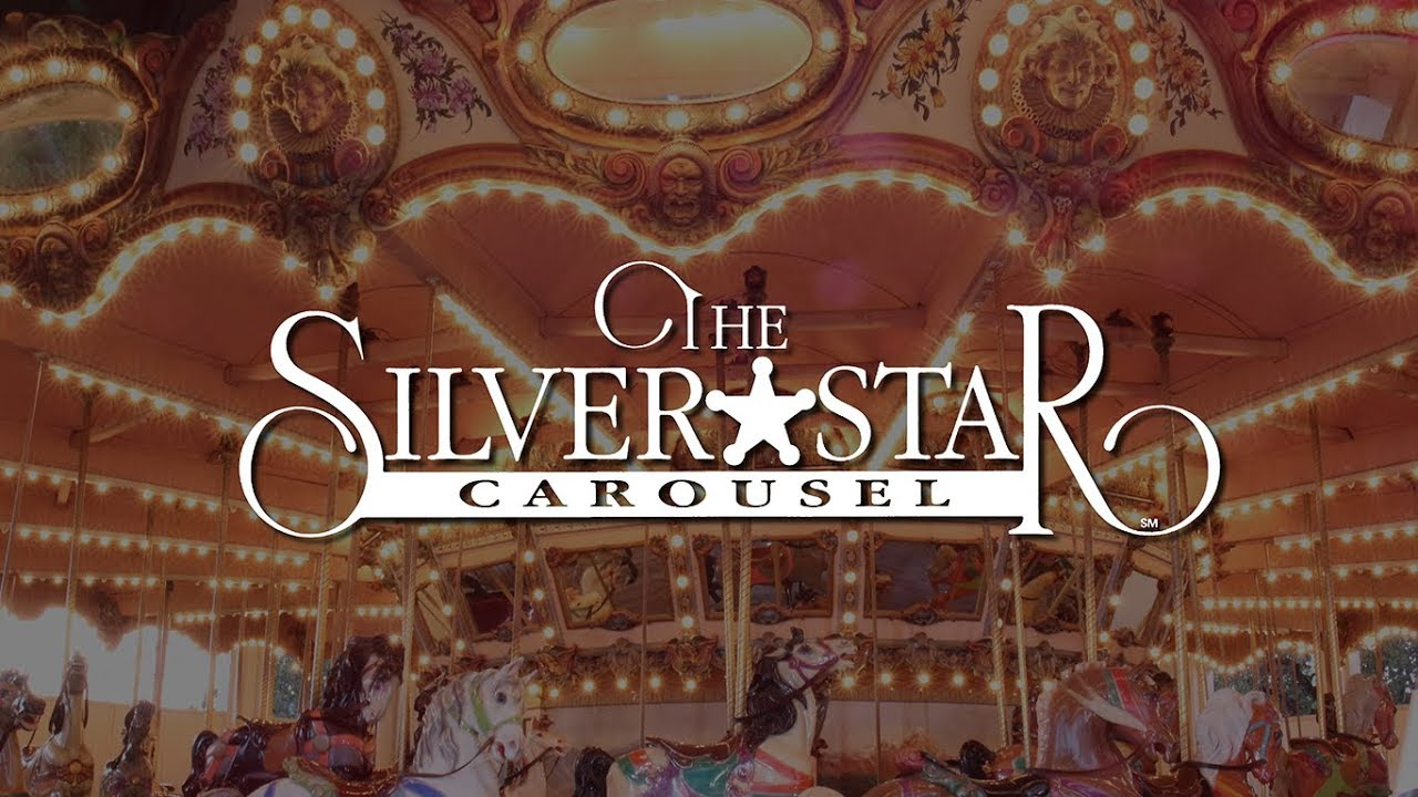 Silver Star Carousel | Six Flags Over Texas