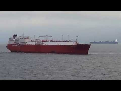 LNG GAS CARRIER IBERICA KNUTSEN 16 JUNE 2014 0906 hs