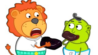 Lion Family Official Channel 🍫 Story for Kids about Sweets and Chocolate | Cartoon for Kids
