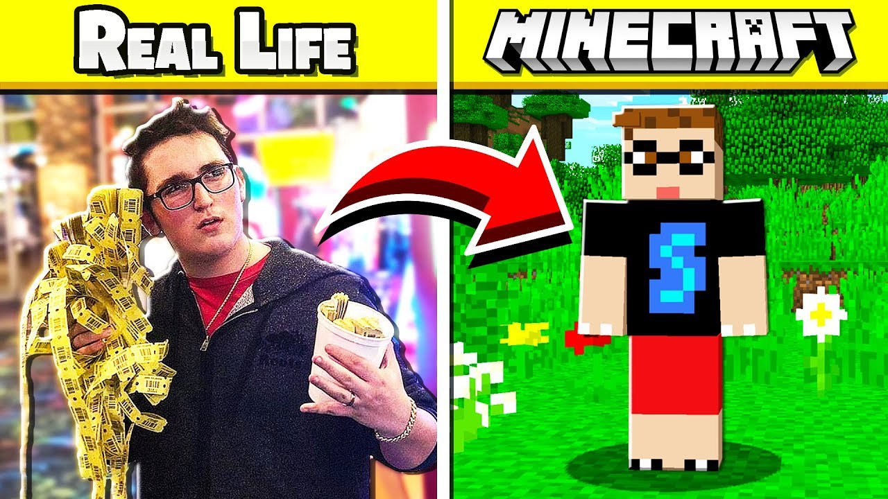 MAKING MY REAL LIFE SELF A MINECRAFT SKIN!