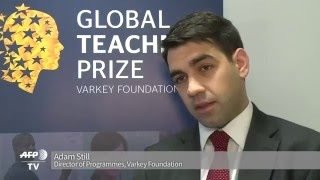 Kenyan teacher eyes $1million prize for campaign vs extremism
