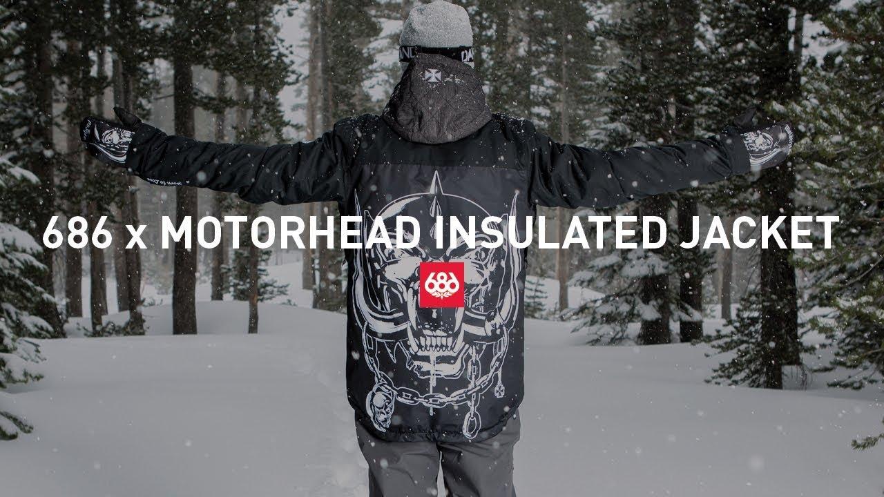 7e1bc5a4b0774 686 x Motorhead Insulated Jacket - YouTube