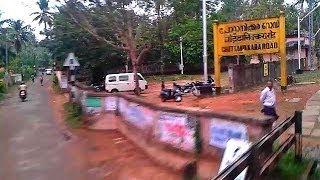 SRR-TVC Venad Express curves Chottanikara road