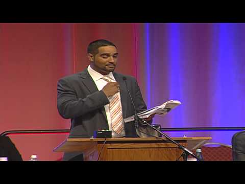 Seattle educator and activist Jesse Hagopian at the 2015 MTA Annual Meeting