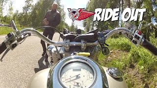 Yamaha Wild Star XV1600 ride out