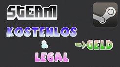 KOSTENLOS und LEGAL Steam Geld verdienen! Tutorial