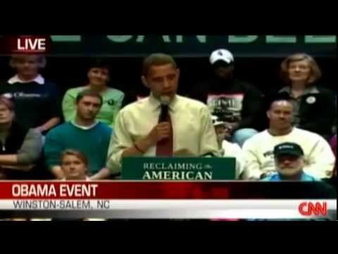 Obama In 2008 Promises Energy Solutions So We Aren't Talking Higher Prices In Future
