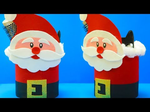 21 DIY Santa Claus From Plastic Bottle | Christmas Craft Ideas