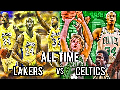 What If The BEST Lakers Played The GREATEST Celtics of All Time?
