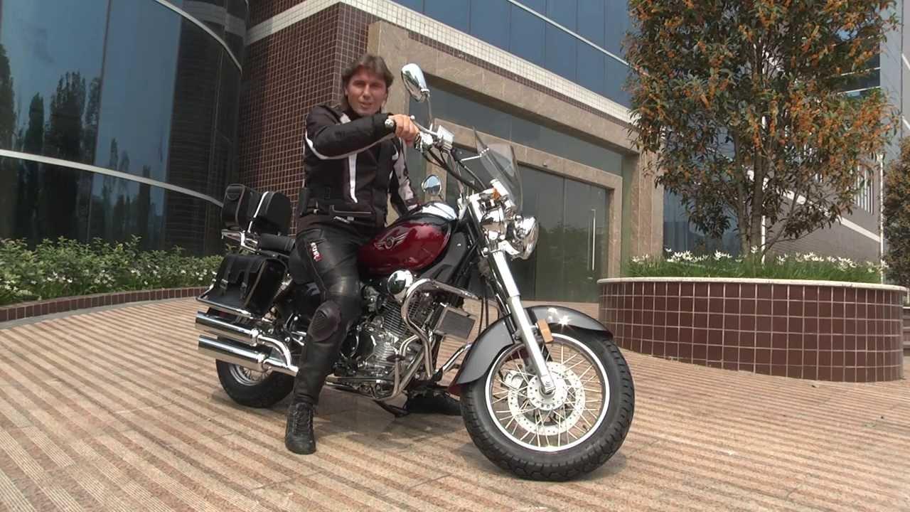 Irbis ttr 125R - Замена заднего амортизатора кроссового мотоцикла .