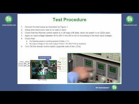 PFC and LLC Controller for ATX, TV Power Conversion Evaluation Board - NCP1910GEVB Test Procedure