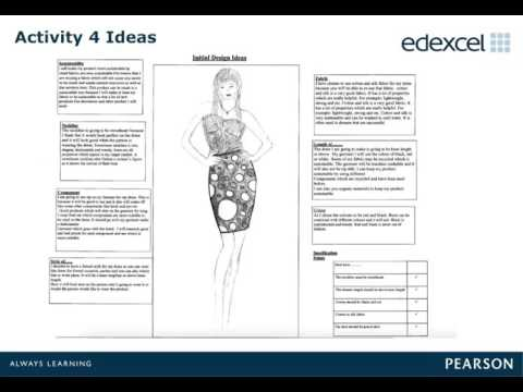 GCSE Design and Technology - Textiles: Controlled Assessment Marking  Training (Pre-recorded Event)