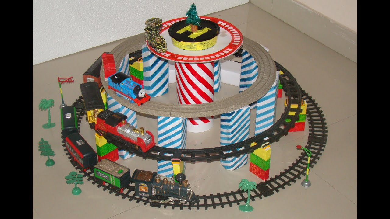 Toy Trains And Christmas : Toy train video for children christmas trains