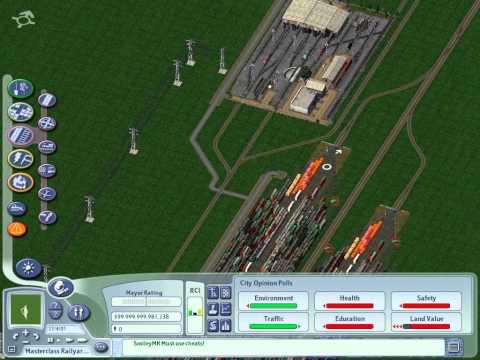 SimCity 4 Masterclass - Railyards