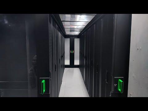 Así es el 'bunker' de la telecomunicación de Vitoria