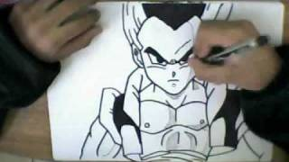 HOW TO DRAW GOTENKS