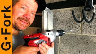 You Want To Hang On Concrete Walls? Here's How To Drill Into Concrete the DIY way | GardenFork