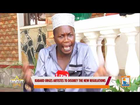 Kabako argues artists to disobey the new regulations  uncut