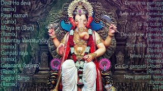 Nonstop Ganpati Dj Remixes Latest Song 2018 (Ganpati Bappa Morya) includes multiple dj remixes