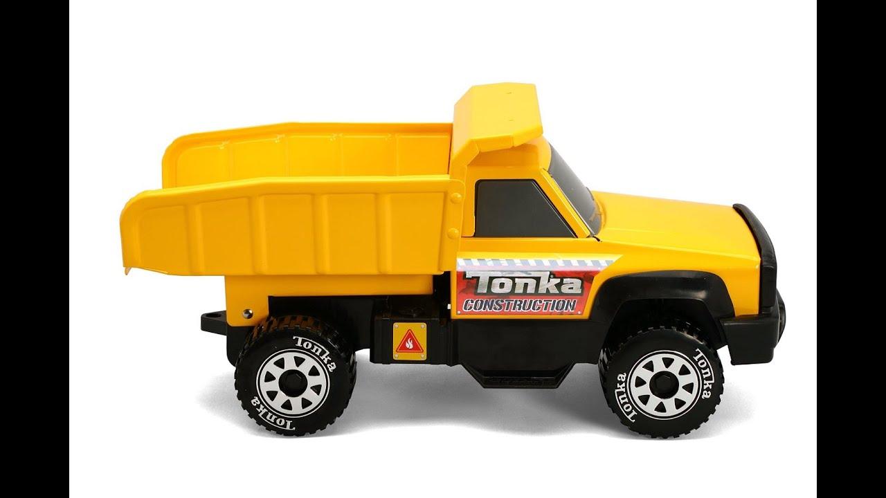 Camion benne jouet tonka classic steel quarry v hicule pour les enfants youtube - Camion benne tonka ...
