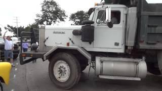 MASSIVE Autocar Dump Truck - ATCA Harford 2013