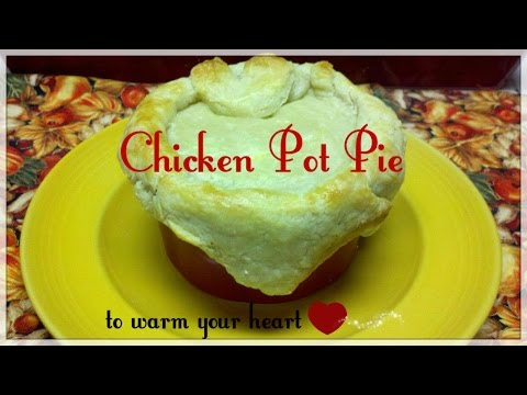 Semi Homemade Chicken Pot Pie