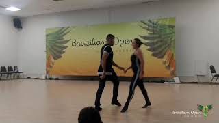 Danilo Vieira & Simone Buratto - West Coast Swing coreo - SHOW BR OPEN 2019