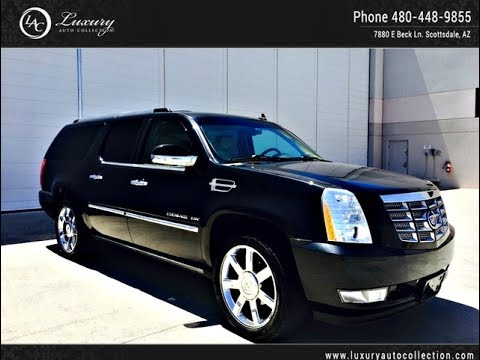 1671a 2010 cadillac escalade esv premium scottsdale. Black Bedroom Furniture Sets. Home Design Ideas