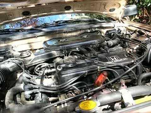 1988 Honda Accord Open Header Rev - YouTube