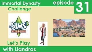 Let's Play The Sims 3 - Immortal Dynasty Challenge - Episode 31